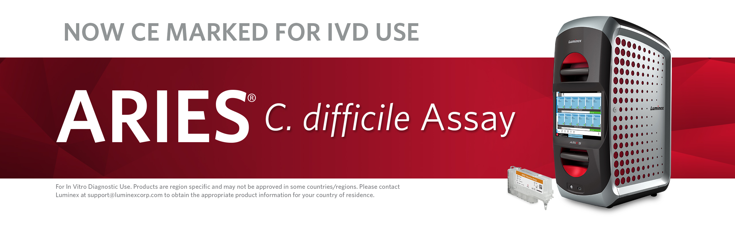 ARIES® C. difficile Assay | CE Marked for IVD Use