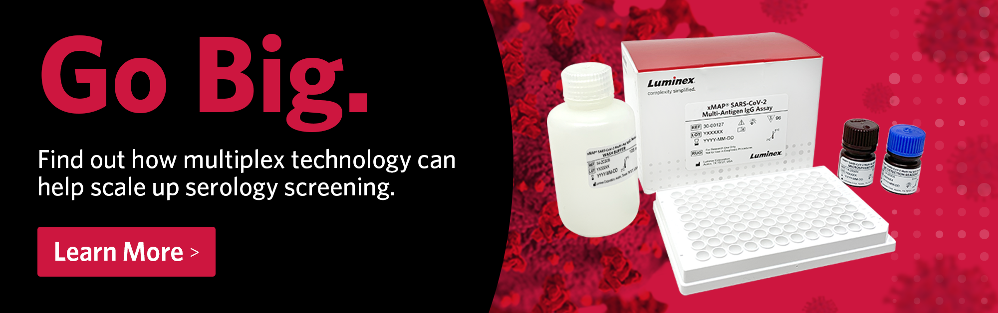 Find out how multiplex technology can help scale up serology screening.