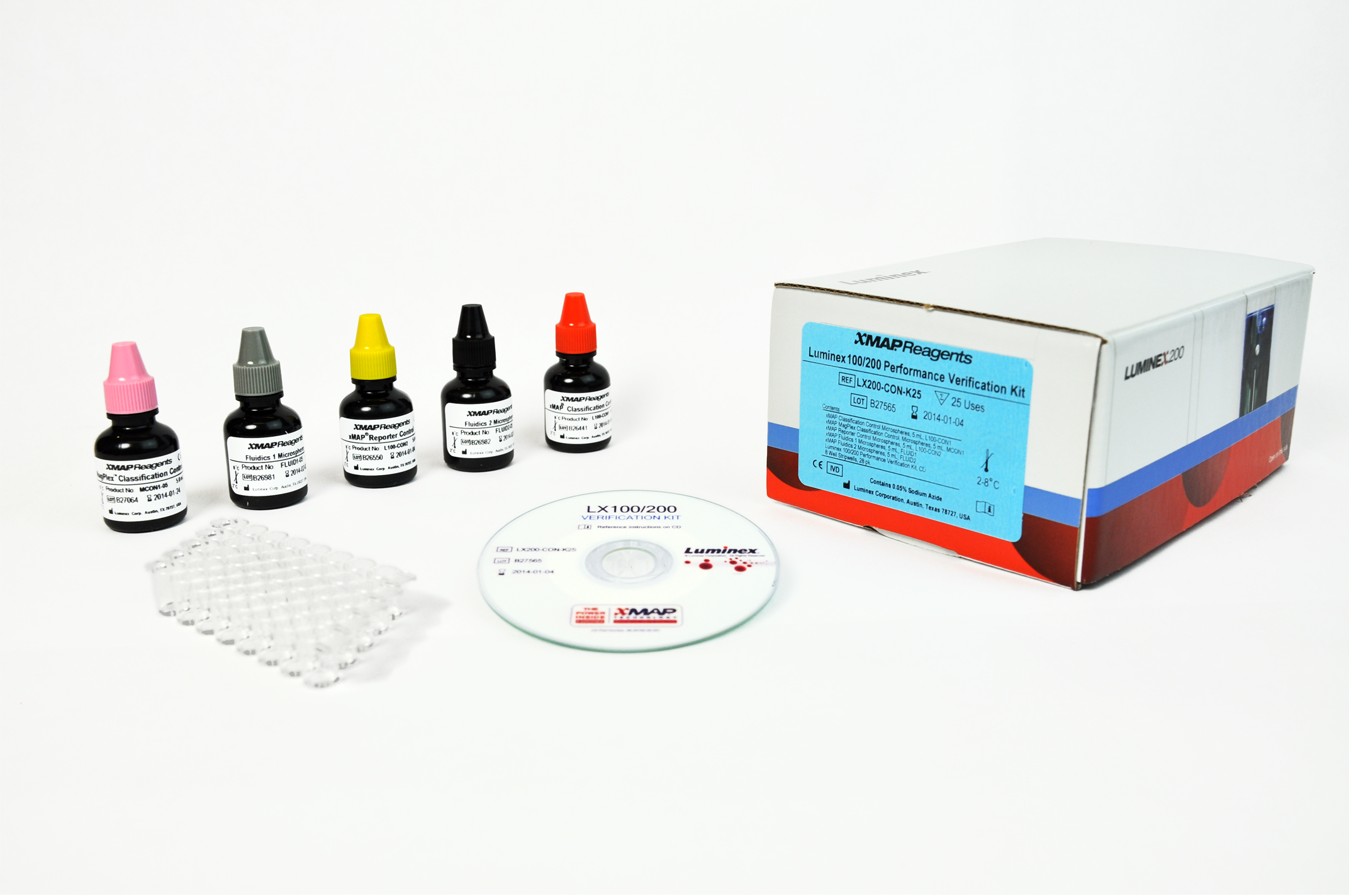 Luminex 100/200 Performance Verification Kit