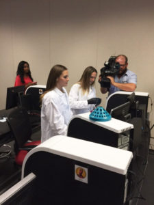 KVUE Filming the xMAP® MutliFLEX™ Zika RNA Assay in use on the ARIES® System