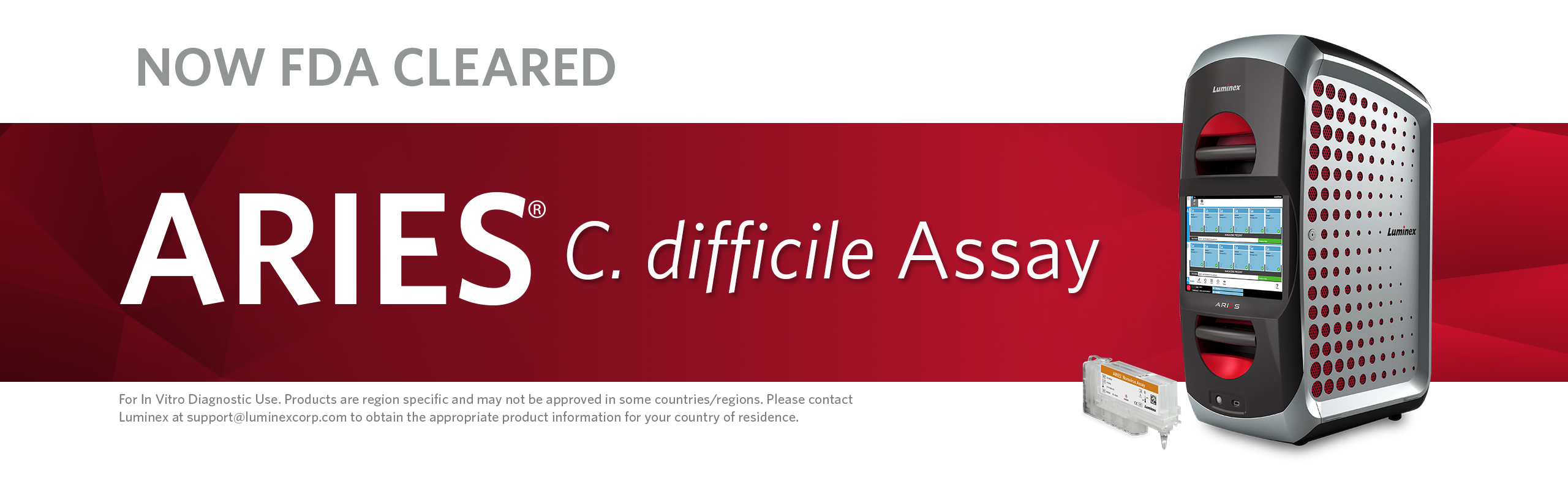 ARIES® C. difficile Assay | FDA Cleared for IVD Use