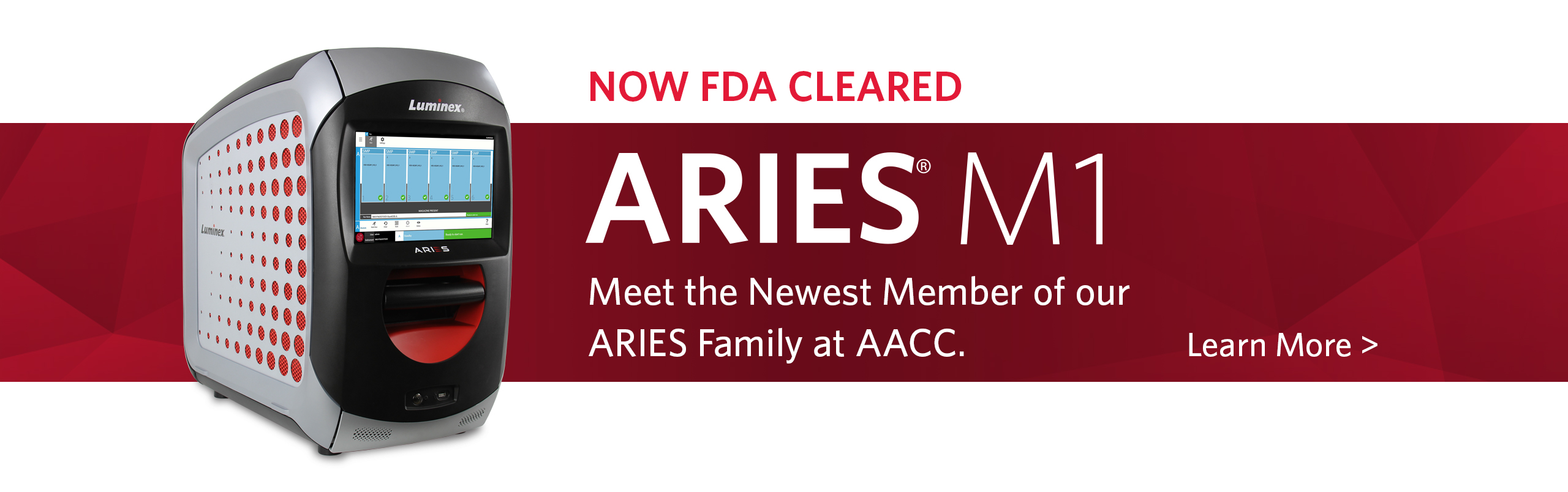 ARIES® M1 is now FDA Cleared