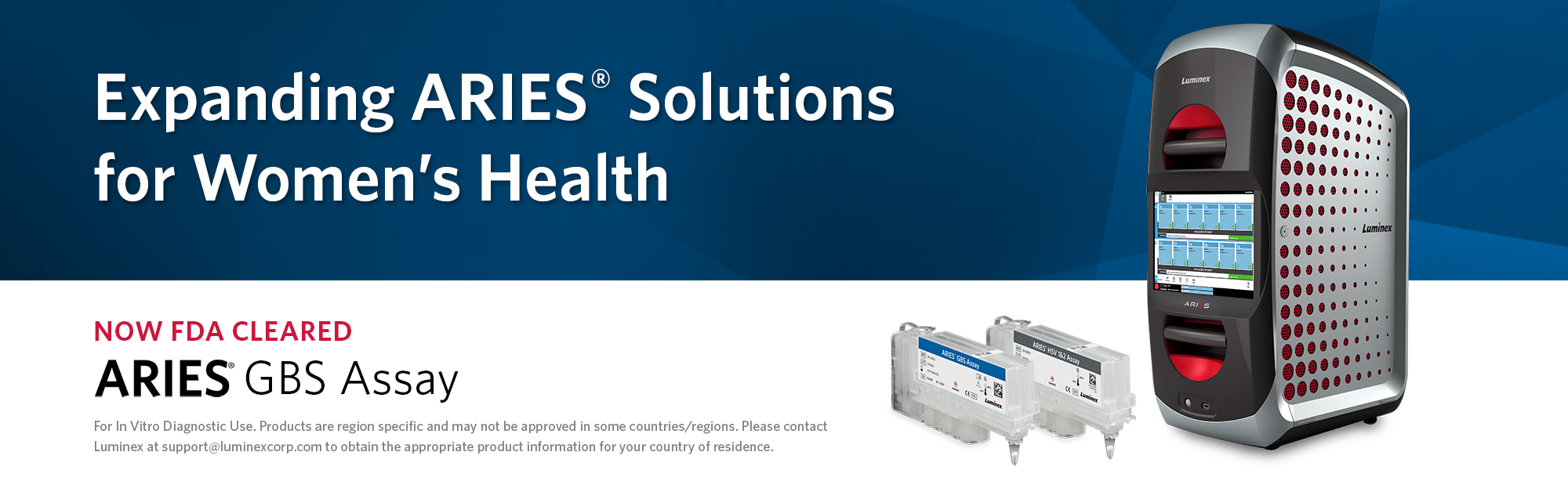 Expanding ARIES® Solutions for Women's Health - ARIES® GBS Assay is Now FDA Cleared