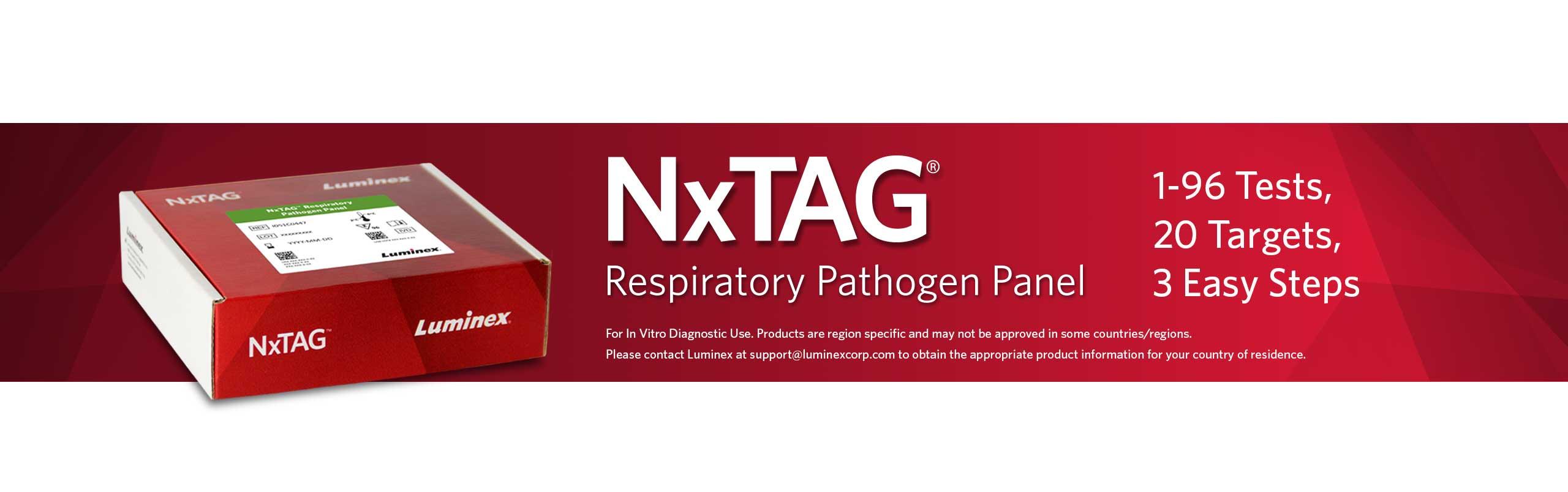 NxTAG® Respiratory Pathogen Panel (RPP)