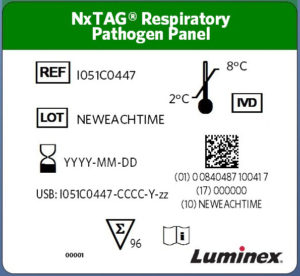 NxTAG® RPP New Label Format Example