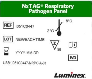 NxTAG® RPP Old Label Format Example