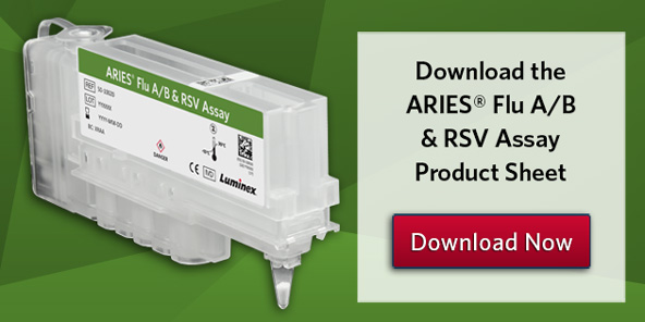 Download the ARIES® Flu A/B & RSV Assay Product Sheet