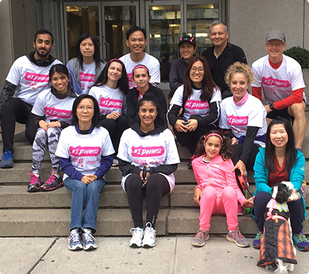 Luminex Toronto Races for a Cure