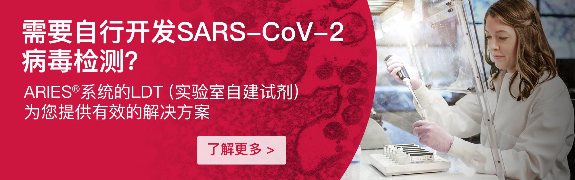 需要自行开发SARS-CoV-2病毒检测?